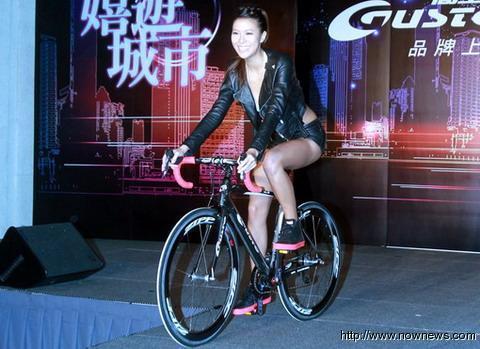 林又立為腳踏車活動站台