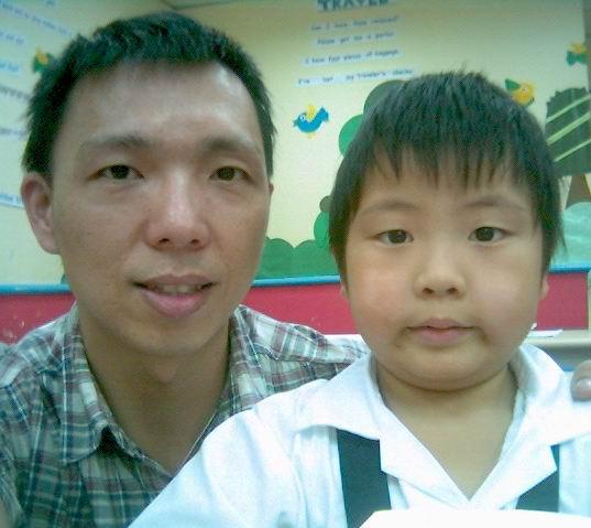2006年0926與陳岳儀(陽光森林兒童美語補習班)