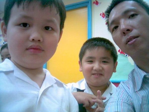 2006年0904馬駿為與陳灝(陽光森林兒童美語補習班)