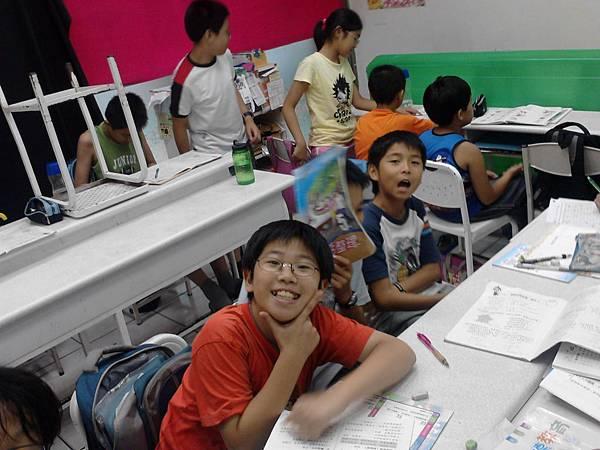 2011年0617優仕安親班劉少庸與張育維