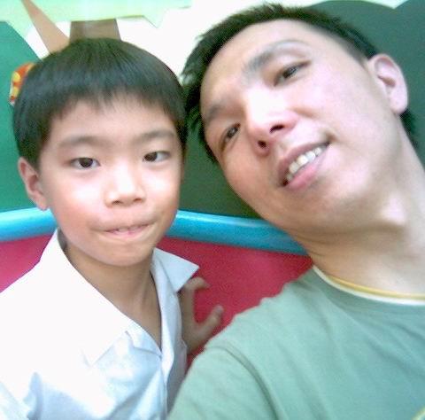 2006年0921與金明灝(陽光森林兒童美語補習班)