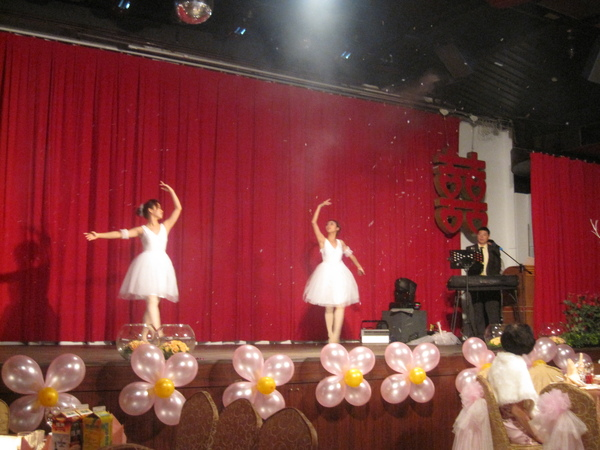 跳芭蕾舞耶