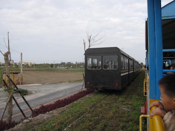 小火車會車