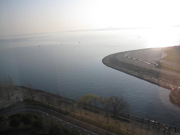 早晨的琵琶湖