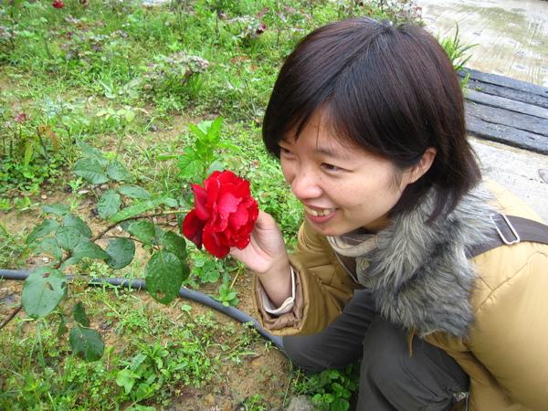 我跟花很不熟耶