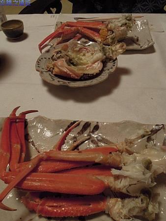 36望洋樓晚餐烤越前蟹-2
