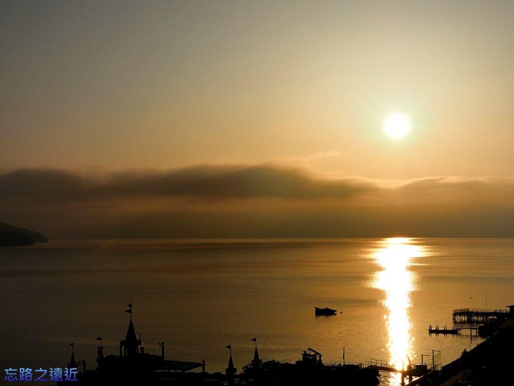 洞爺湖花景色清晨-13