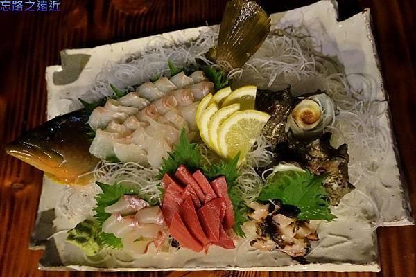 39「蔵」晚餐-生魚片