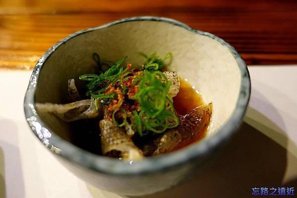 40「蔵」晚餐-魚皮