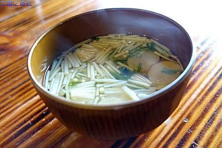 48「蔵」早餐-湯