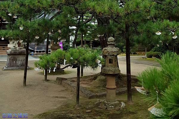 8天橋立智恩寺文殊堂前掛籤.jpg