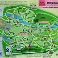 45新宿御苑地圖