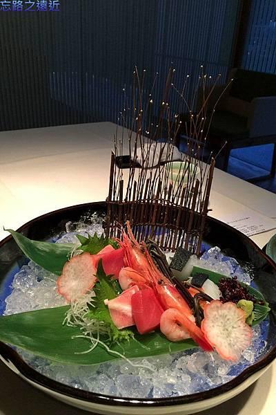 45宙SORA晚餐生魚片