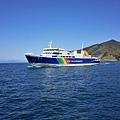 14土肥港Ferry入港-2