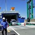 17土肥港Ferry汽車下船