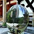 32熊野本宮大社拜殿前八咫烏-1.jpg
