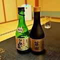 41綠水亭晚餐自購日本酒.jpg