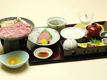伽羅近江牛壽喜燒火鍋餐