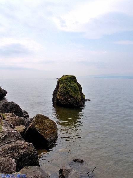 19海津大崎琵琶湖義經隱身石.jpg