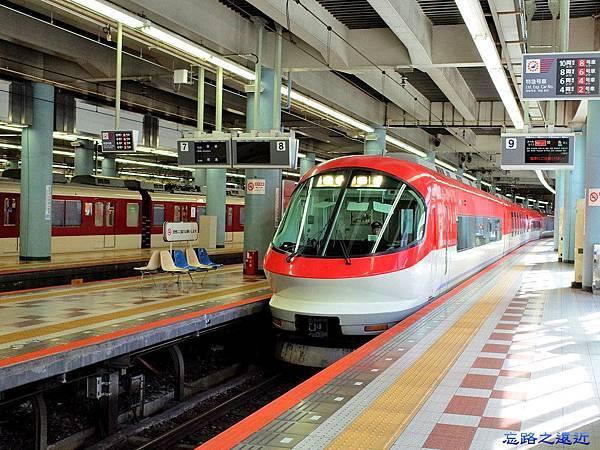 11近鉄上本町站特急列車