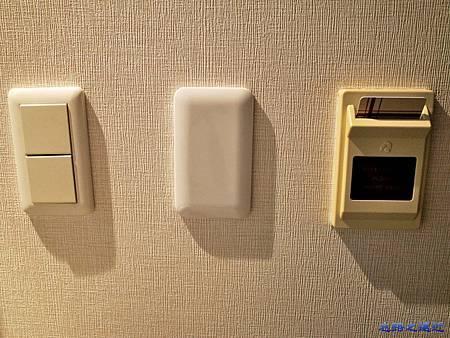 31Richmond Hotel 納屋橋房內電源