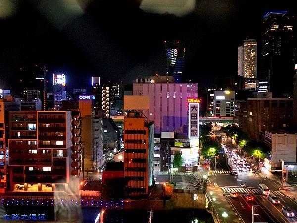 48Richmond Hotel 納屋橋窗夜景