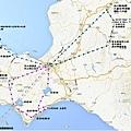 道南自助旅行路線圖