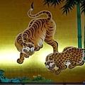16名古屋城本丸玄關一之間襖繪竹林豹虎圖.jpg