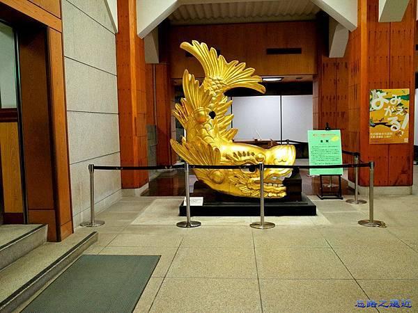 23名古屋天守閣地下一樓金鯱模型.jpg