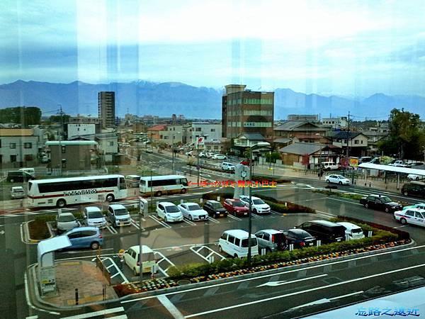 9-1松本站西口停車場ぽっかぽか巴士
