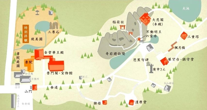 48那谷寺map