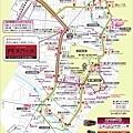 金澤觀光巴士路線圖