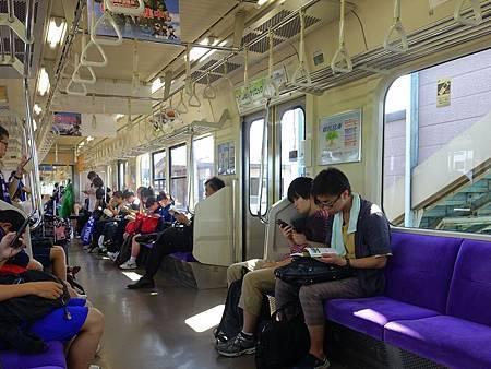 48東北本線普通列車內