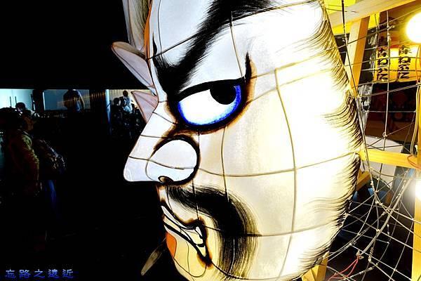 16睡魔祭小型燈籠-面具2.jpg