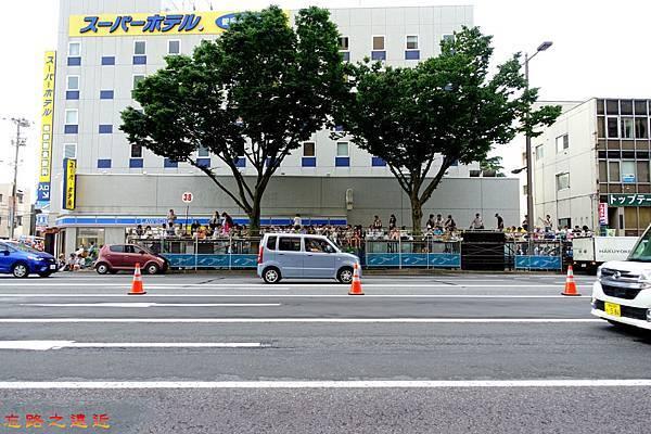 2016青森睡魔祭1Super Hotel前-淨空中.jpg