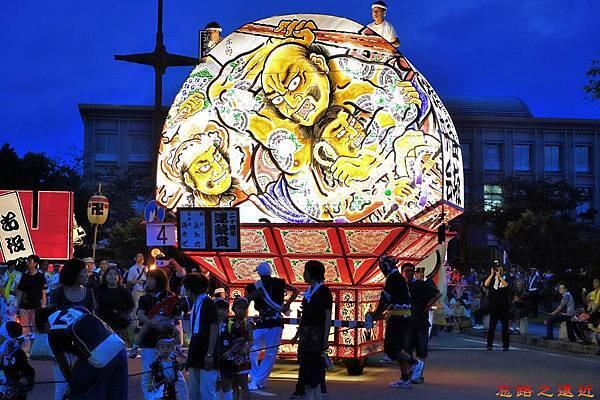 33弘前睡魔祭常盤坂子供會燈籠-小型扇.jpg