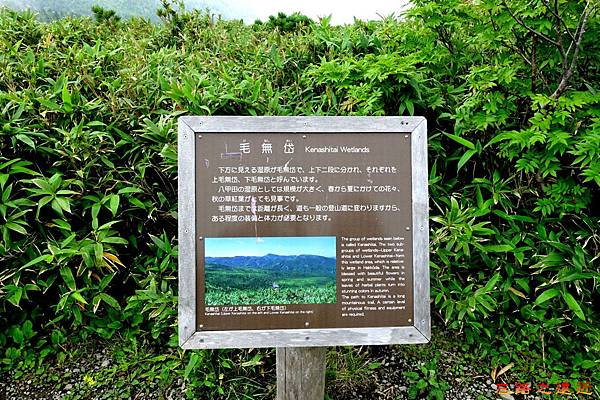 34八甲田山步道毛無岱濕原說明牌.jpg