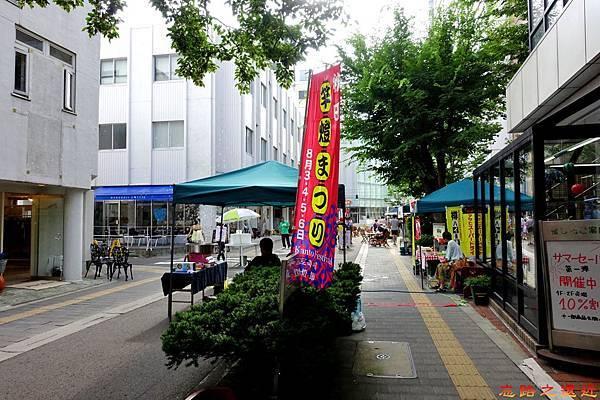 10秋田竿燈祭期間站前街道-1.jpg