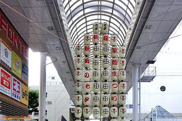 31秋田站西口街道竿燈