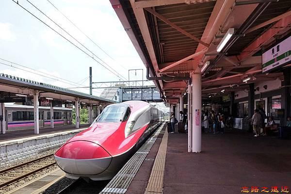 0角館站新幹線小町號列車