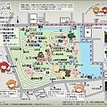 51和歌山城地圖-觀覽路線