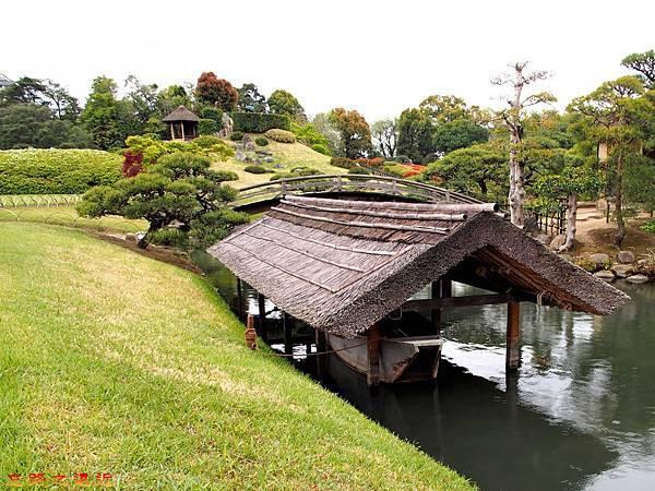 25岡山後樂園船塢-島茶屋拱橋旁.jpg