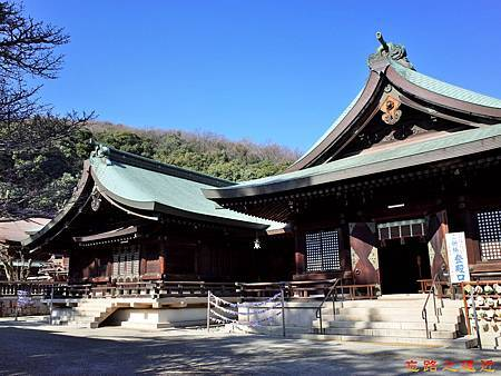 34吉備津彥神社拜殿與祭文殿.jpg