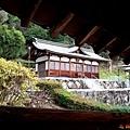 37吉備津神社迴廊望惠比壽宮.jpg
