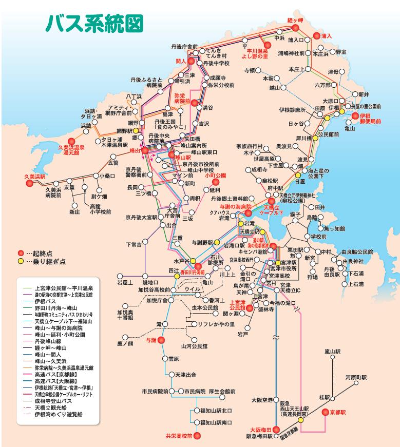 丹海巴士系統圖