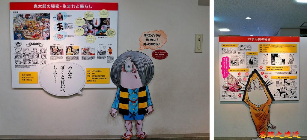 38境港水木茂紀念館個主角介紹.jpg