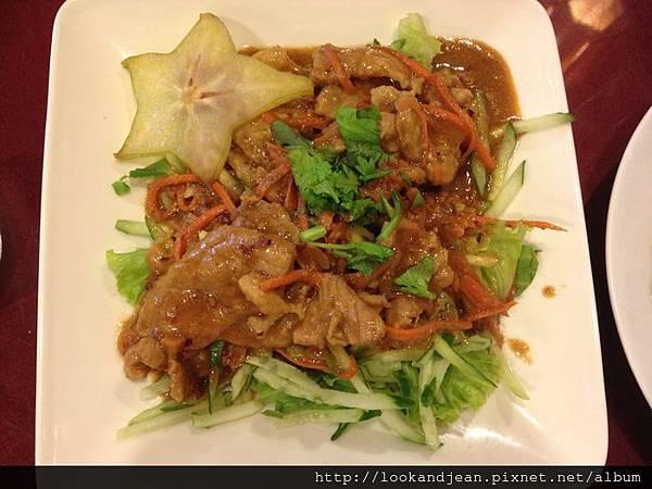 黃椰沙爹豬肉NT120