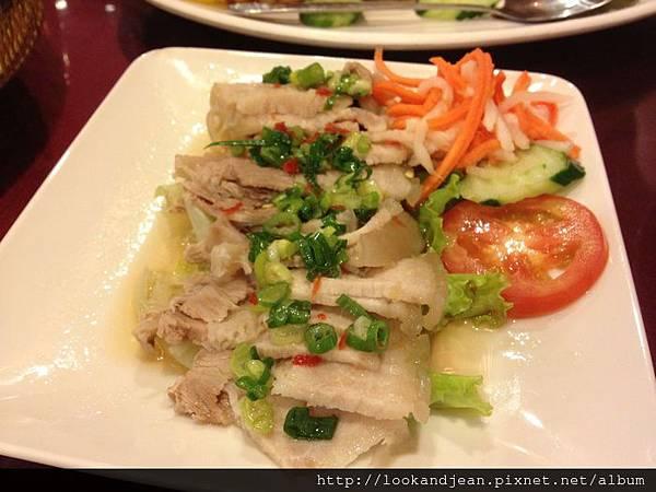 白灼魚露豬肉NT95