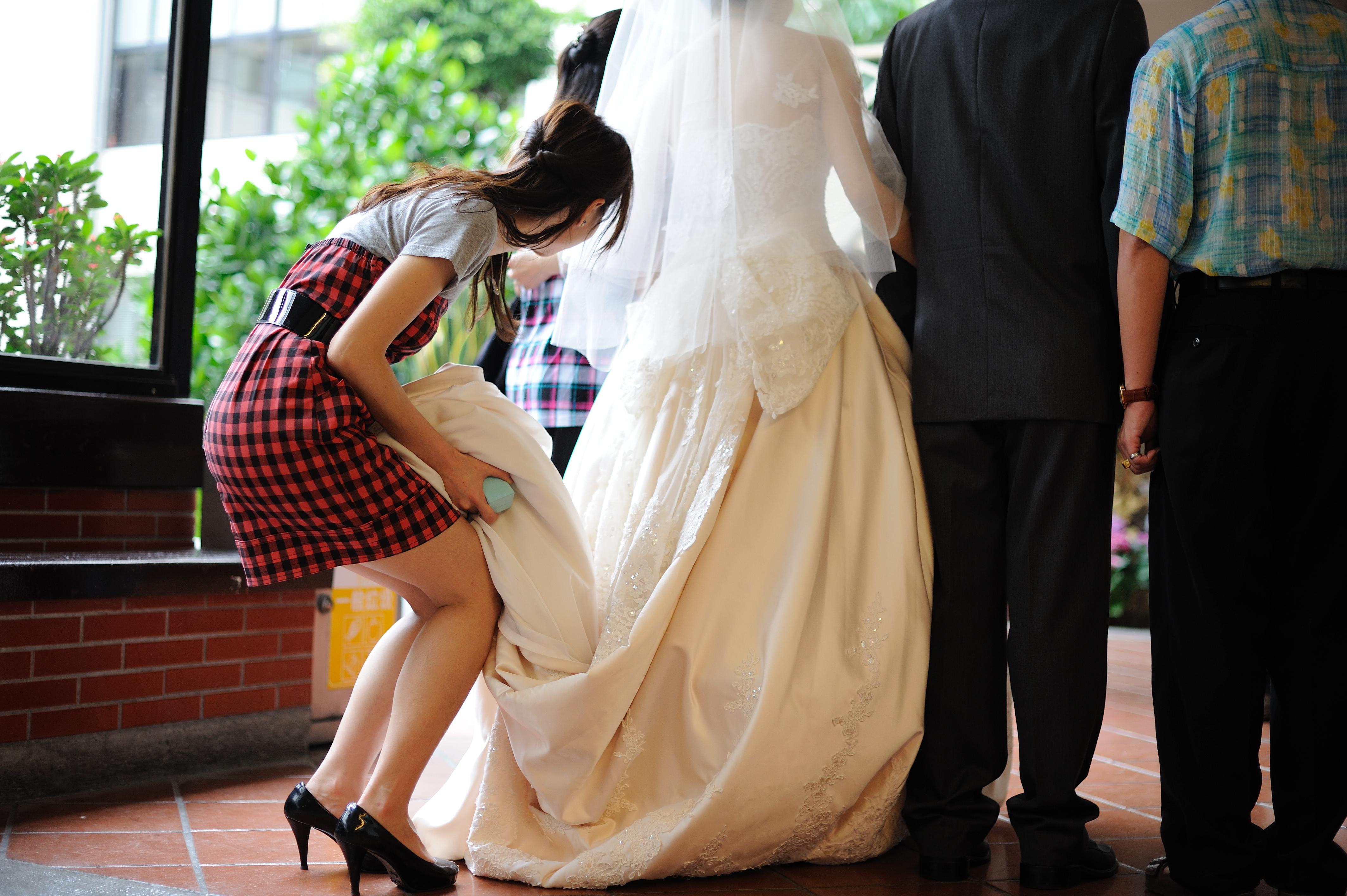 婚禮中的小插曲