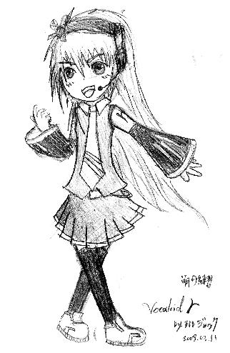 Vocaloid試作II2008/03/11
